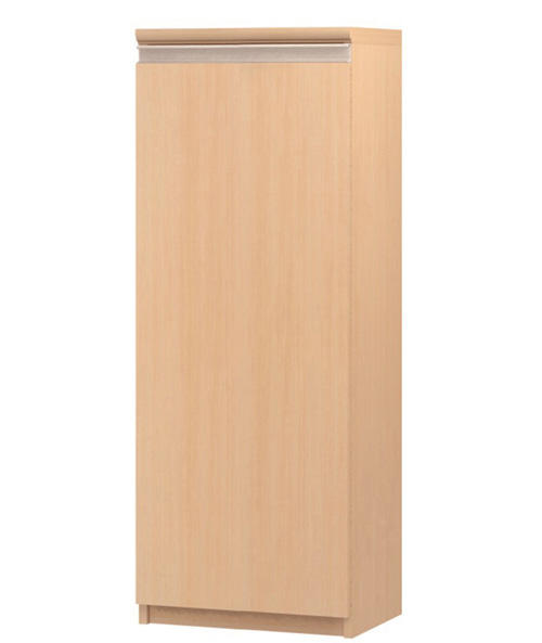 フラット扉クローゼット 高さ117cm幅30~44cm奥行31cm 片開き(左開き/右開き) フラット扉付寝室本棚