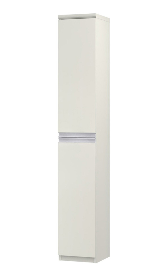 フラット扉スリム収納 高さ178cm幅25~29cm奥行19cm 上下共片開き(左開き/右開き) フラット扉付玄関ラック