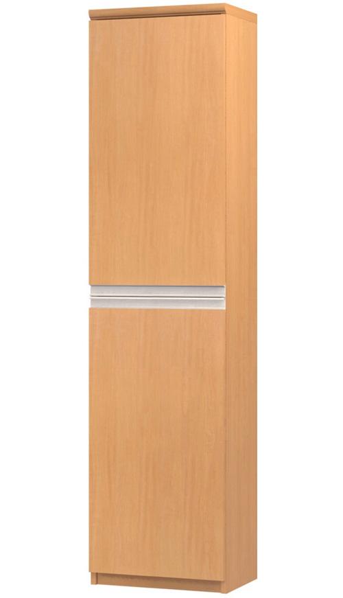 フラット扉全面扉付きファイル収納 高さ178cm幅30~44cm奥行40cm 上下共片開き(左開き/右開き) フラット扉付待合室ラック