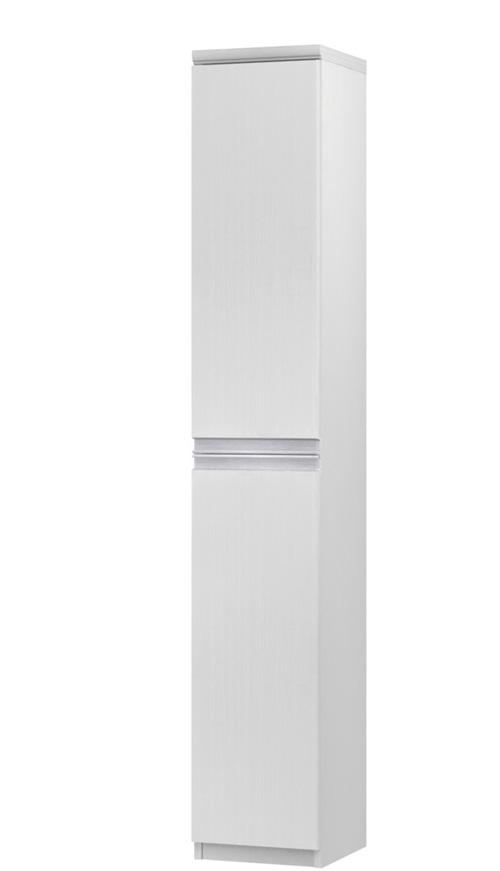 フラット扉リビング隙間収納 高さ178cm幅25~29cm奥行46cm 上下共片開き(左開き/右開き) フラット扉付事務所ディスプレイ