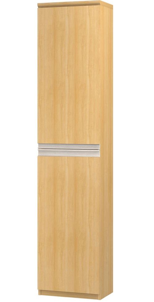 フラット扉扉付きファイル収納棚 高さ211.1cm幅30~44cm奥行40cm 上下共片開き(左開き/右開き) フラット扉付ロビー収納