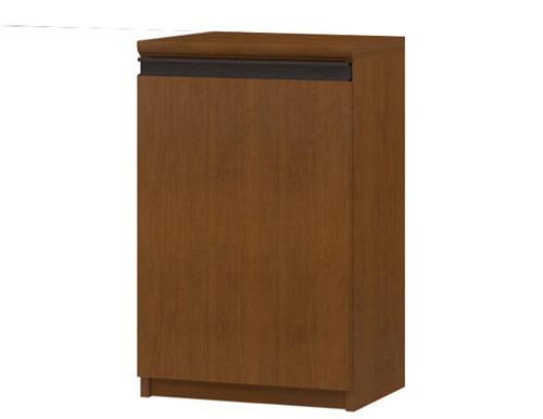 フラット扉和室収納 高さ70cm幅30~44cm奥行46cm厚棚板(棚板厚み2.5cm) 片開き(左開き/右開き) フラット扉付ランドリーディスプレイ