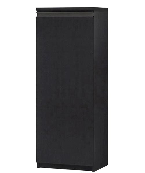 フラット扉キッチン棚 高さ117cm幅30~44cm奥行31cm厚棚板(棚板厚み2.5cm) 片開き(左開き/右開き) フラット扉付居間収納