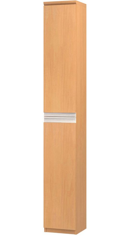 フラット扉壁面書庫 高さ211.1cm幅25~29cm奥行31cm厚棚板(棚板厚み2.5cm) 上下共片開き(左開き/右開き) フラット扉付リビングボード