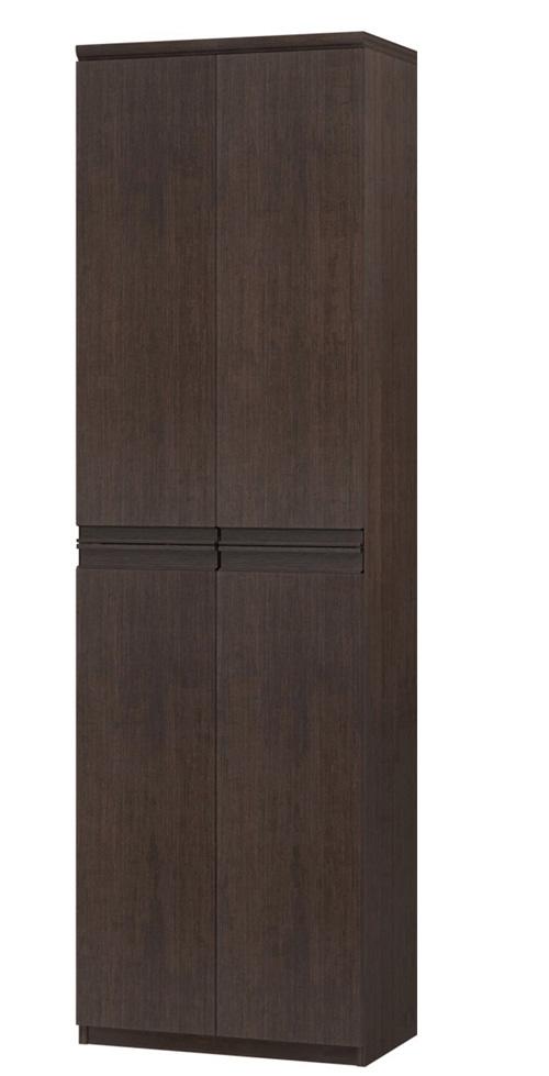 フラット扉扉付木製A3ファイル収納 高さ211.1cm幅45~59cm奥行40cm厚棚板(棚板厚み2.5cm) 上下共両開き フラット扉付図書コーナー本棚