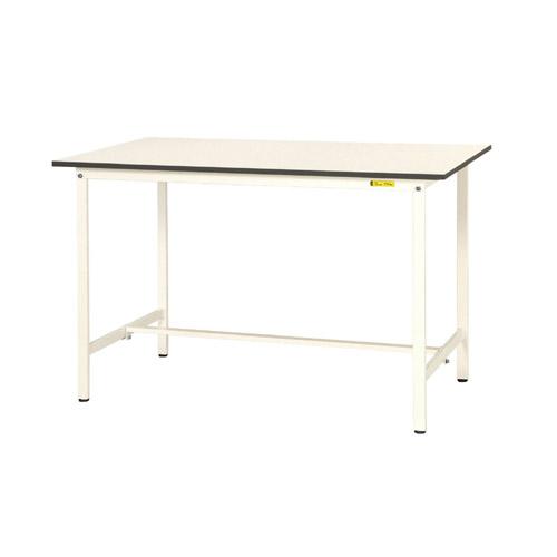 作業用テーブル ワークテーブル 高さ固定式 H950mm中棚無し・下棚無し 均等耐荷重150kg作業台 幅1500mm×奥750mm×高950mm