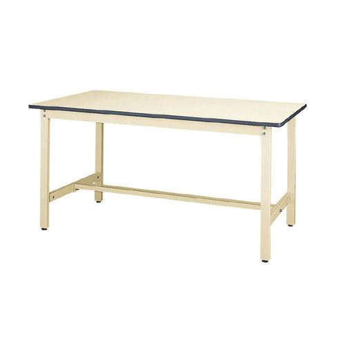 工場用テーブル ワークテーブル 高さ固定式 H740mm塩ビシート天板 22mm 均等耐荷重300kg作業台 幅1500mm×奥750mm×高740mm