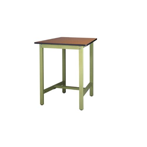 作業用テーブル ワークテーブル 高さ固定式 H900mmポリエステル天板 21mm 均等耐荷重300kg作業台 幅750mm×奥750mm×高900mm