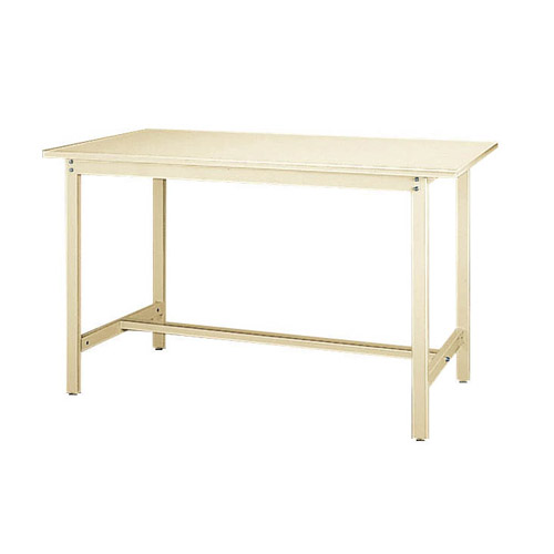 業務用テーブル ワークテーブル 高さ固定式 H900mmスチール天板 26mm 均等耐荷重300kg作業台 幅1500mm×奥750mm×高900mm