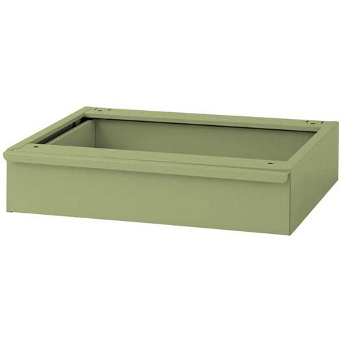 業務用テーブル キャビネット オプション キャビネット1段 引出し耐荷重20kg/段オプション 幅500mm×奥456mm×高111mm