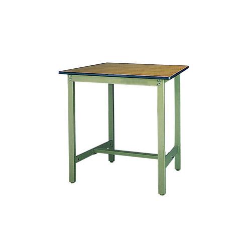 工場用 ワークテーブル 高さ固定式 H900mmメラミン天板 21mm 均等耐荷重500kg作業台 幅900mm×奥750mm×高900mm