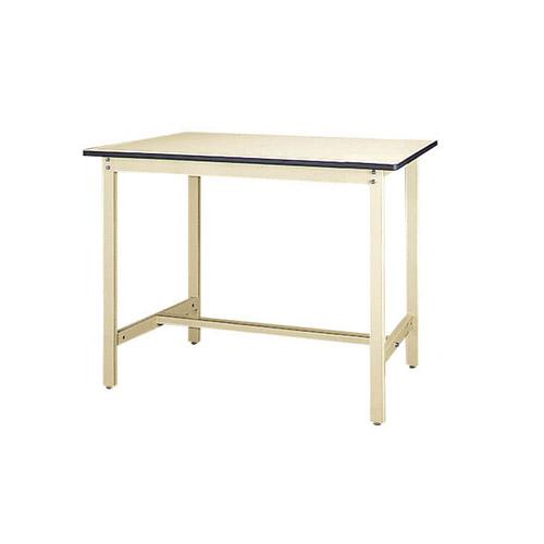 重量ワークテーブル 高さ固定式 H900mm塩ビシート天板 22mm 均等耐荷重500kg作業台 幅1200mm×奥750mm×高900mm