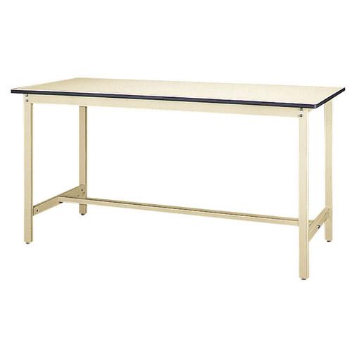 業務用 ワークテーブル 高さ固定式 H900mm塩ビシート天板 22mm 均等耐荷重500kg作業台 幅1800mm×奥600mm×高900mm
