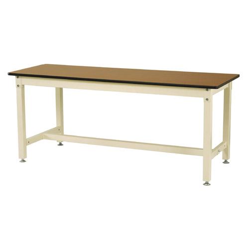 工場テーブル 作業台 高さ固定式 H740mmメラミン天板 21mm 均等耐荷重800kgワークテーブル 幅1800mm×奥600mm×高740mm
