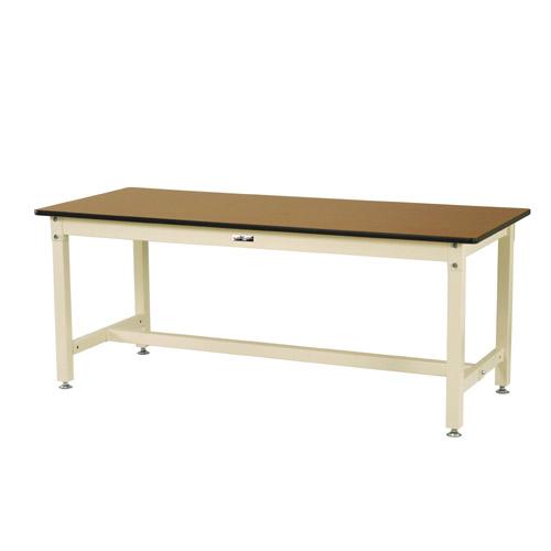 業務用テーブル 作業台 高さ固定式 H740mmメラミン天板 21mm 均等耐荷重800kgワークテーブル 幅1800mm×奥750mm×高740mm