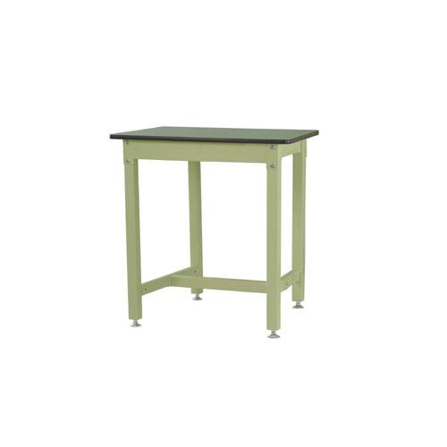 重量 ワークテーブル 高さ固定式 H900mm塩ビシート天板 22mm 均等耐荷重800kg作業台 幅900mm×奥600mm×高900mm
