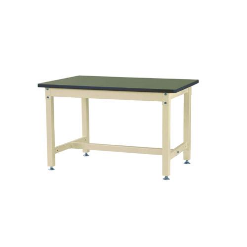 業務用テーブル 作業台 高さ固定式 H740mm塩ビシート天板 29mm 均等耐荷重1200kgワークテーブル 幅1200mm×奥600mm×高740mm