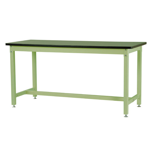 作業用テーブル ワークテーブル 高さ固定式 H900mm塩ビシート天板 29mm 均等耐荷重1200kg作業台 幅1800mm×奥600mm×高900mm