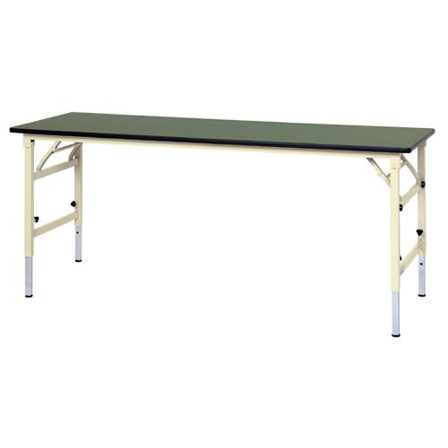 加工台 ワークテーブル 高さ調整式 H600~H900mm塩ビシート天板 22mm 均等耐荷重150kg作業台 幅1800mm×奥600mm×高600~900mm