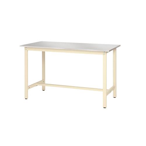 業務用テーブル ワークテーブル ステン天板 高さ固定式 H740mmステン天板 高さ固定式 H740mm 均等耐荷重300kg作業台 幅1500mm×奥750mm×高740mm