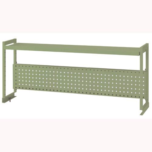 部品組立ワークテーブル架台 架台棚板1段+パンチングパネル 均等耐荷重80kg作業台 架台 幅1511mm×奥300mm×高600mm