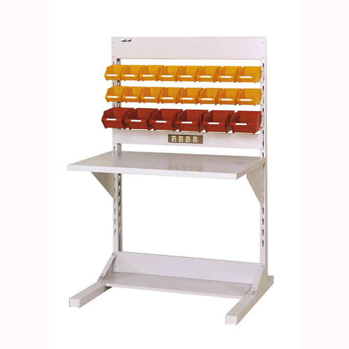 工場用 片面ラインテーブル 片面ラインテーブル W893mm + 基本型単体 片面片面ライン作業台 幅893mm×奥825mm×高1405mm