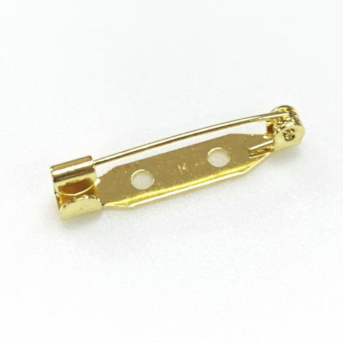 手作り手芸におすすめ 初回限定 日本製 造花ピン コサージュピン 25mm 10個入り ゴールド 割引 ブローチピン