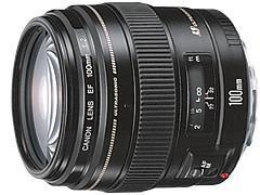 CANON レンズ EF100mm F2 USM
