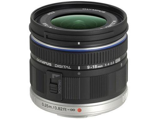 OLYMPUS レンズ M.ZUIKO DIGITAL ED 9-18mm F4.0-5.6