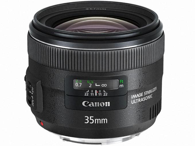CANON レンズ EF35mm F2 IS USM