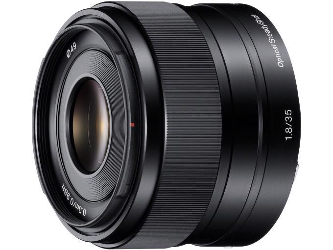 SONY レンズ E 35mm F1.8 OSS SEL35F18