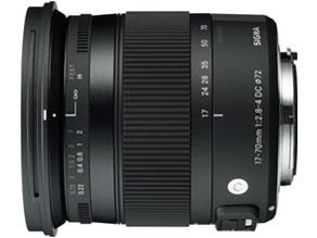 SIGMA レンズ 17-70mm F2.8-4 DC MACRO OS HSM/For Canon17-70mm F2.8-4 DC MACRO OS HSM [キヤノン用]