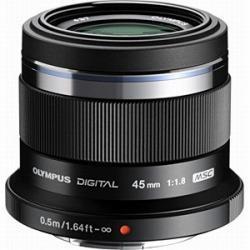OLYMPUS レンズ M.ZUIKO DIGITAL 45mm F1.8 [ブラック]