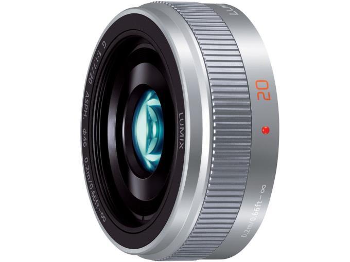 Panasonic レンズ LUMIX G 20mm/F1.7 II ASPH. H-H020A-S [シルバー]