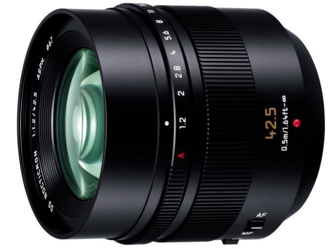 Panasonic レンズ LEICA DG NOCTICRON 42.5mm/F1.2 ASPH./POWER O.I.S. H-NS043