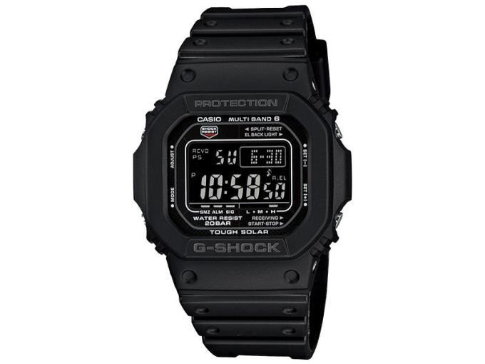 CASIO 男性向け腕時計 GW-M5610-1BJFG-SHOCK マルチバンド 6 GW-M5610-1BJF