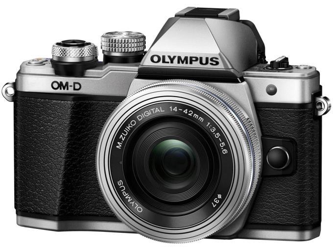 【期間限定特価】OLYMPUS デジタル一眼カメラ OM-D E-M10 Mark II 14-42mm EZレンズキット [シルバー]【KK9N0D18P】