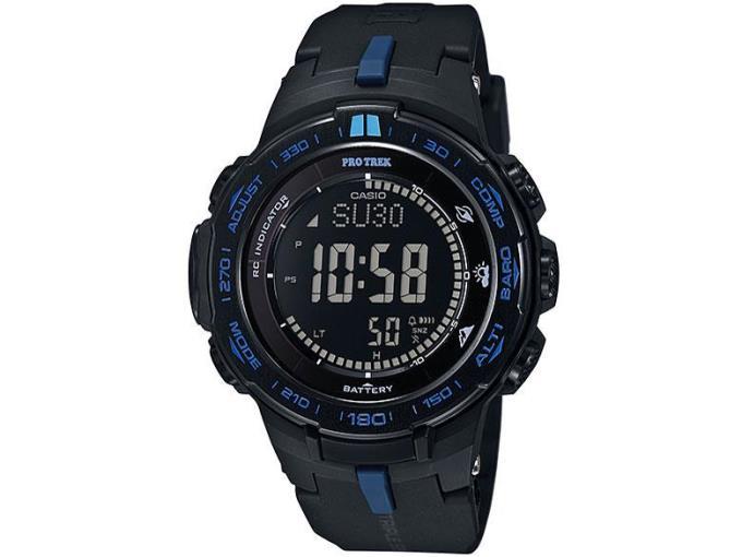 CASIO 男性向け腕時計 PRW-3100Y-1JFプロトレック トリプルセンサー タフソーラー PRW-3100Y-1JF