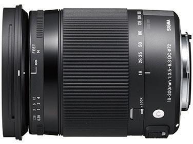 SIGMA レンズ 18-300mm F3.5-6.3 DC MACRO OS HSM【ニコンFマウント】