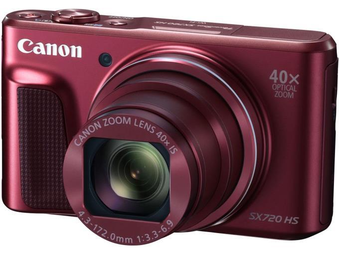 CANON デジタルカメラ PowerShot SX720 HS/RD[レッド]