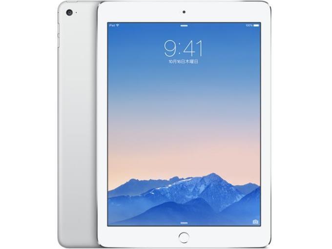 APPLE iPAD(Wi-Fiモデル) iPad Air 2 Wi-Fiモデル 32GB MNV62J/A [シルバー]