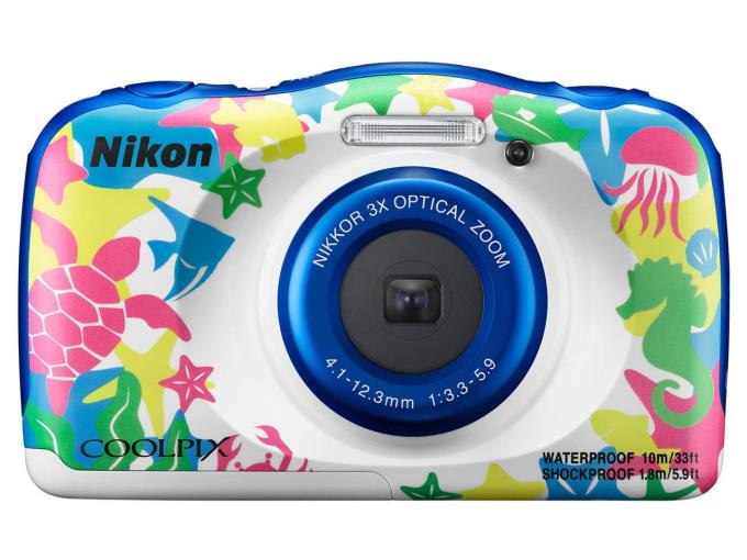 NIKON デジタルカメラ COOLPIX W100/MR [マリン]