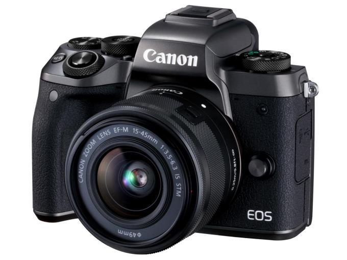 CANON デジタル一眼カメラ EOS M5 EF-M15-45 IS STM レンズキット