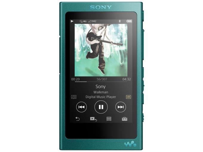 SONY デジタルオーディオプレーヤー NW-A35/L (L) [16GB ビリジアンブルー]