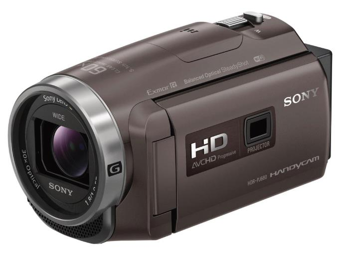 SONY ビデオカメラ HDR-PJ680 (TI) [ブロンズブラウン]