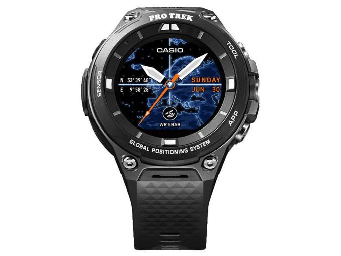 CASIO ウェアラブル端末 Outdoor Watch PRO TREK Smart WSD-F20-BK [ブラック]