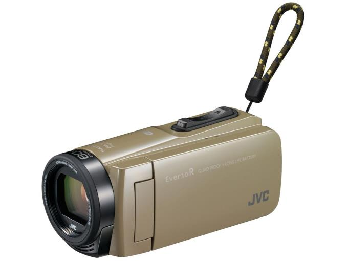 JVC ビデオカメラ Everio R GZ-RX670-C [サンドベージュ]
