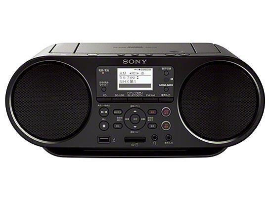 SONY ラジオ ZS-RS81BT