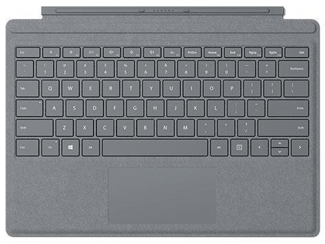 Microsoft タブレットケース Surface Pro Signature タイプ カバー FFP-00019 [プラチナ]