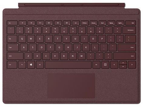 Microsoft タブレットケース Surface Pro Signature タイプ カバー FFP-00059 [バーガンディ]